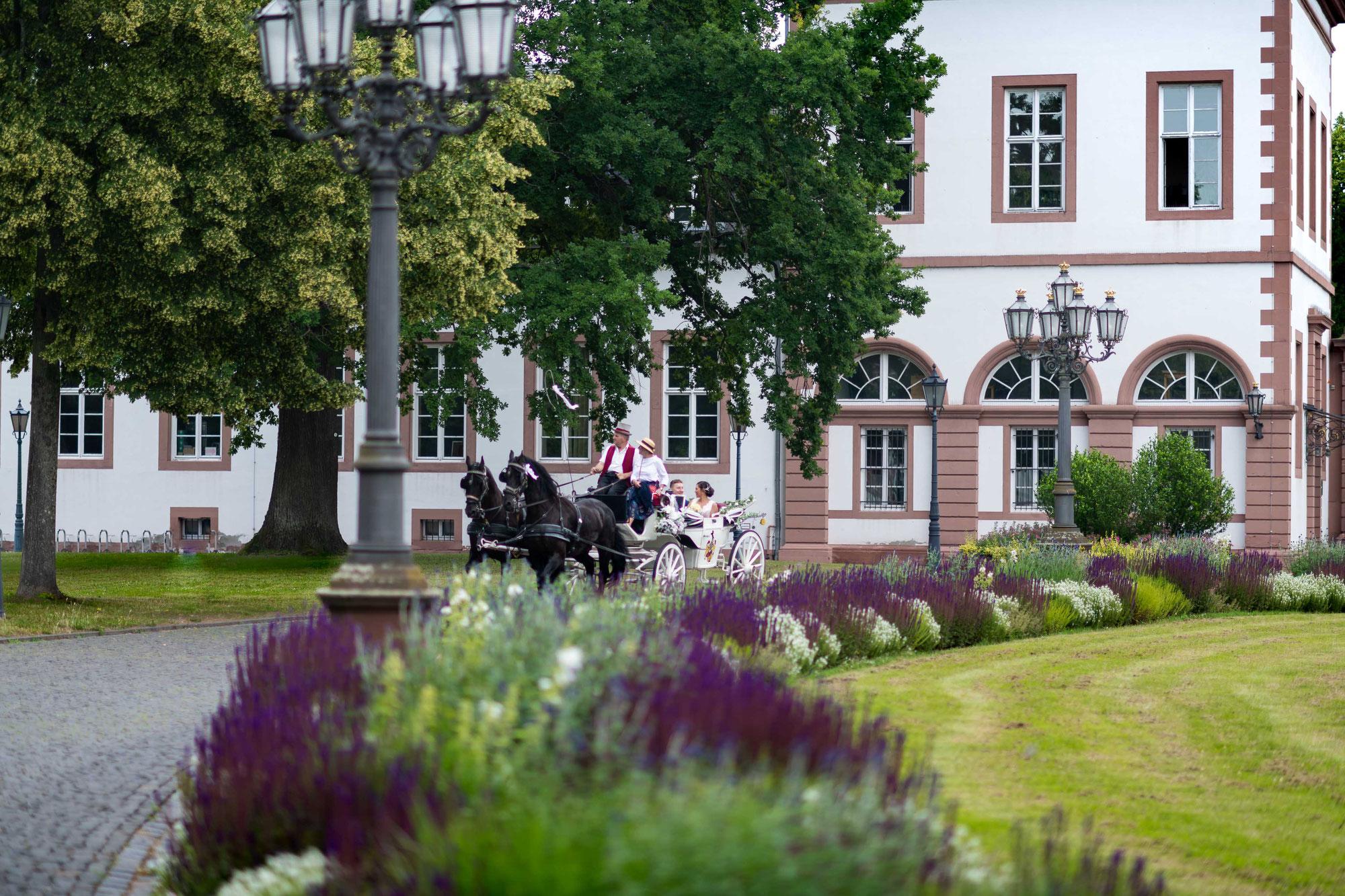 Hochzeitsfotograf für meine Hochzeit im Schloss Philippsruhe in Hanau
