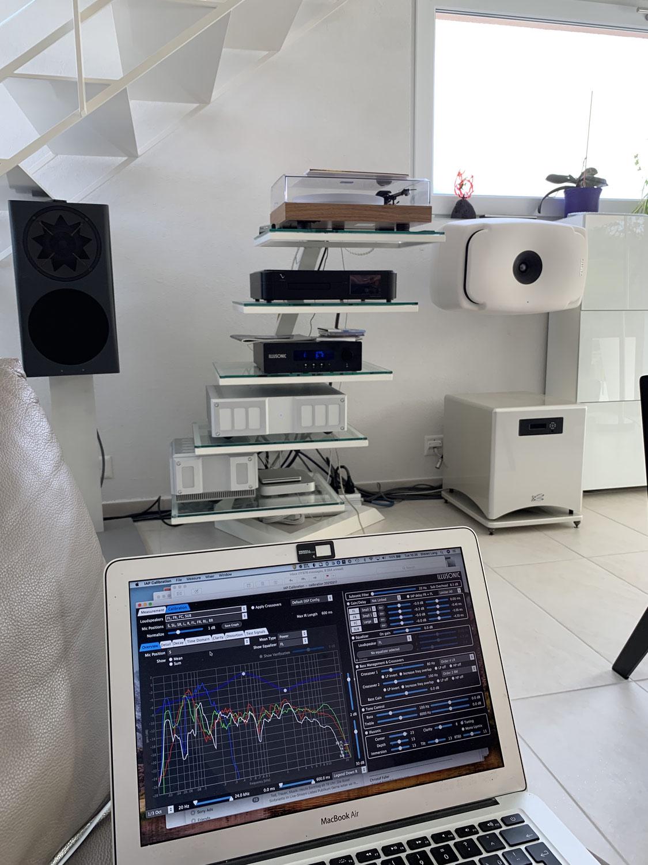 Système audiophile complexe et atypique - Correction acoustique