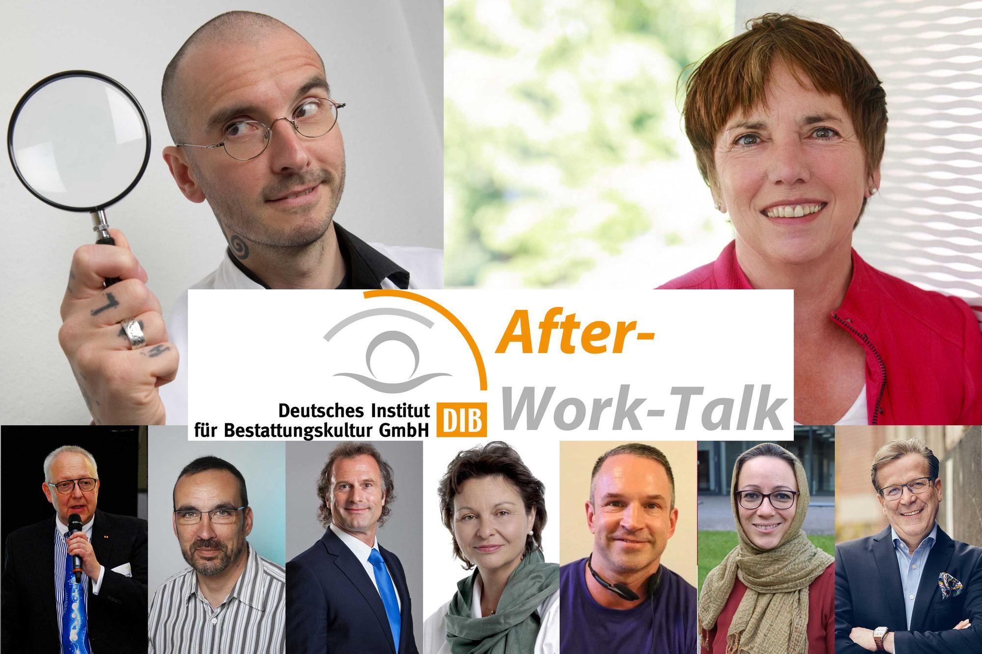 """DIB präsentiert neues virtuelles Format: """"After-Work-Talk"""" nicht nur für Bestatter"""