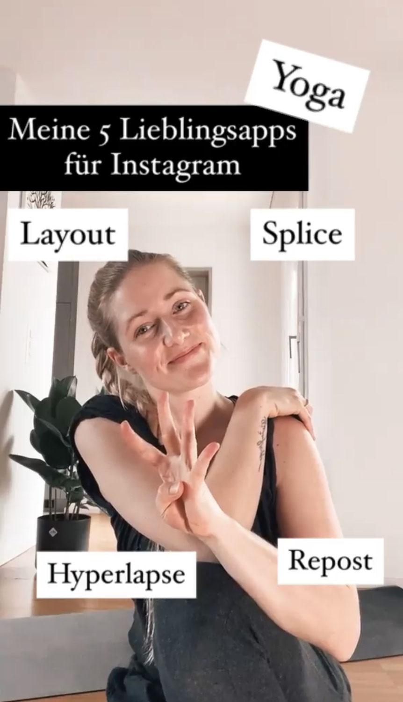 Apps für deinen Instagram Yoga Account