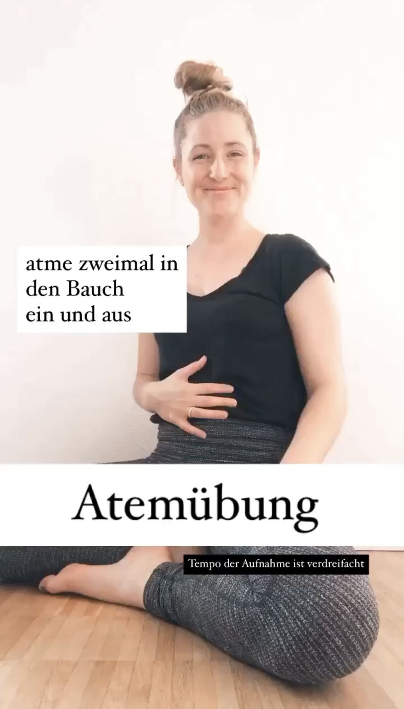 Atemübungen mit Yogamami.ch