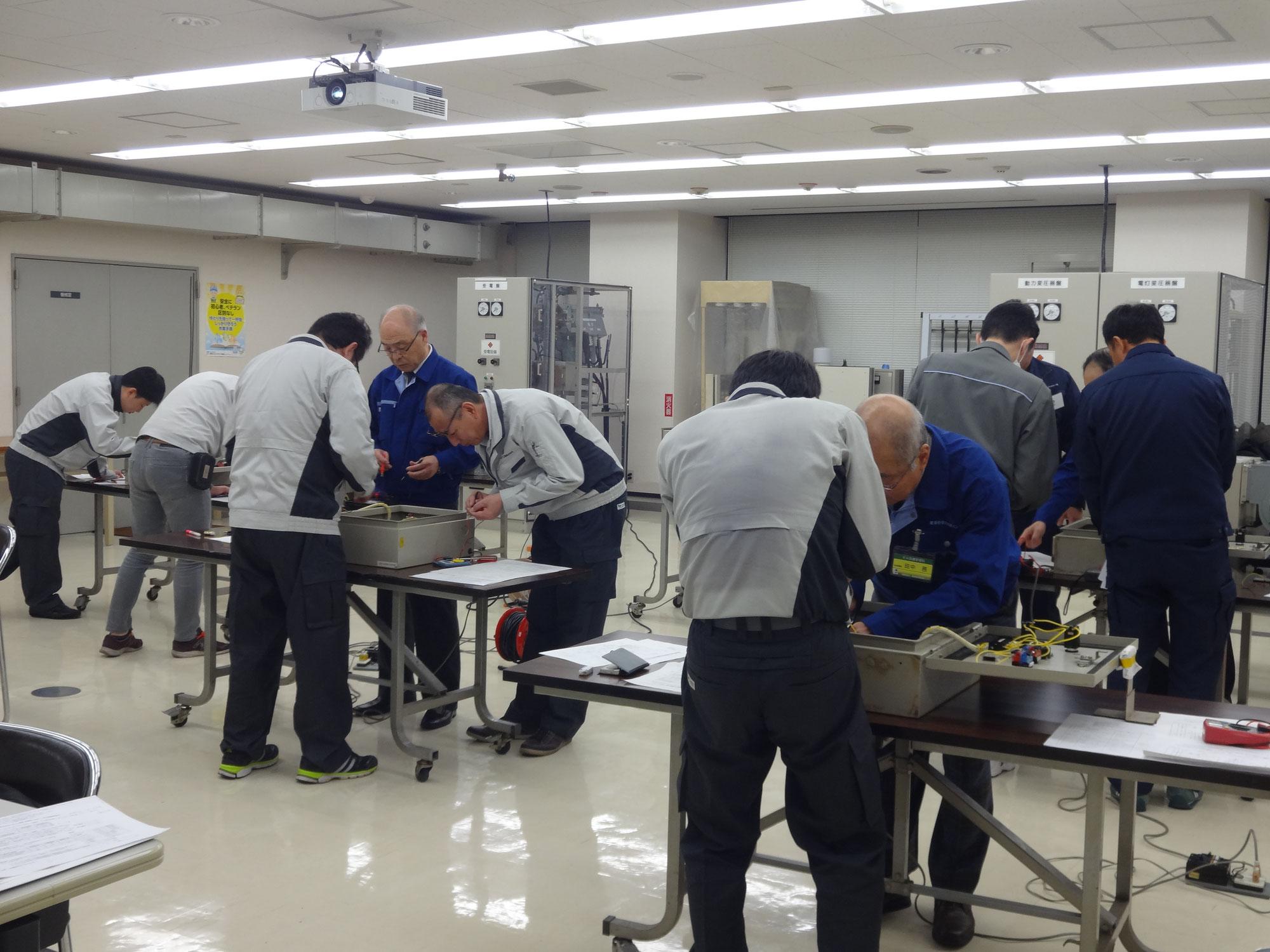 【受付開始】2021年度ビル設備通信訓練 1級技能士コース