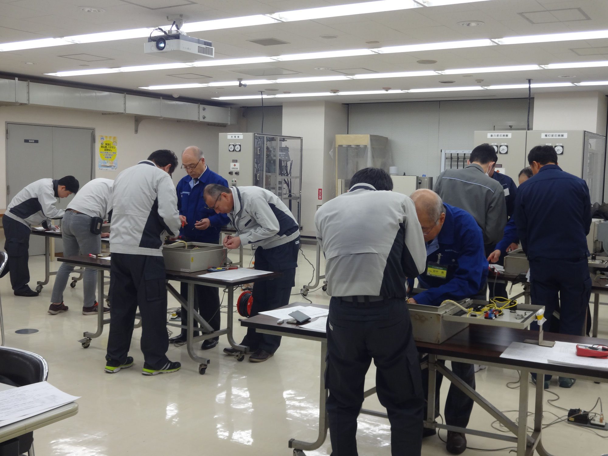 【受付開始】2021年度ビル設備通信訓練 2級技能士コース