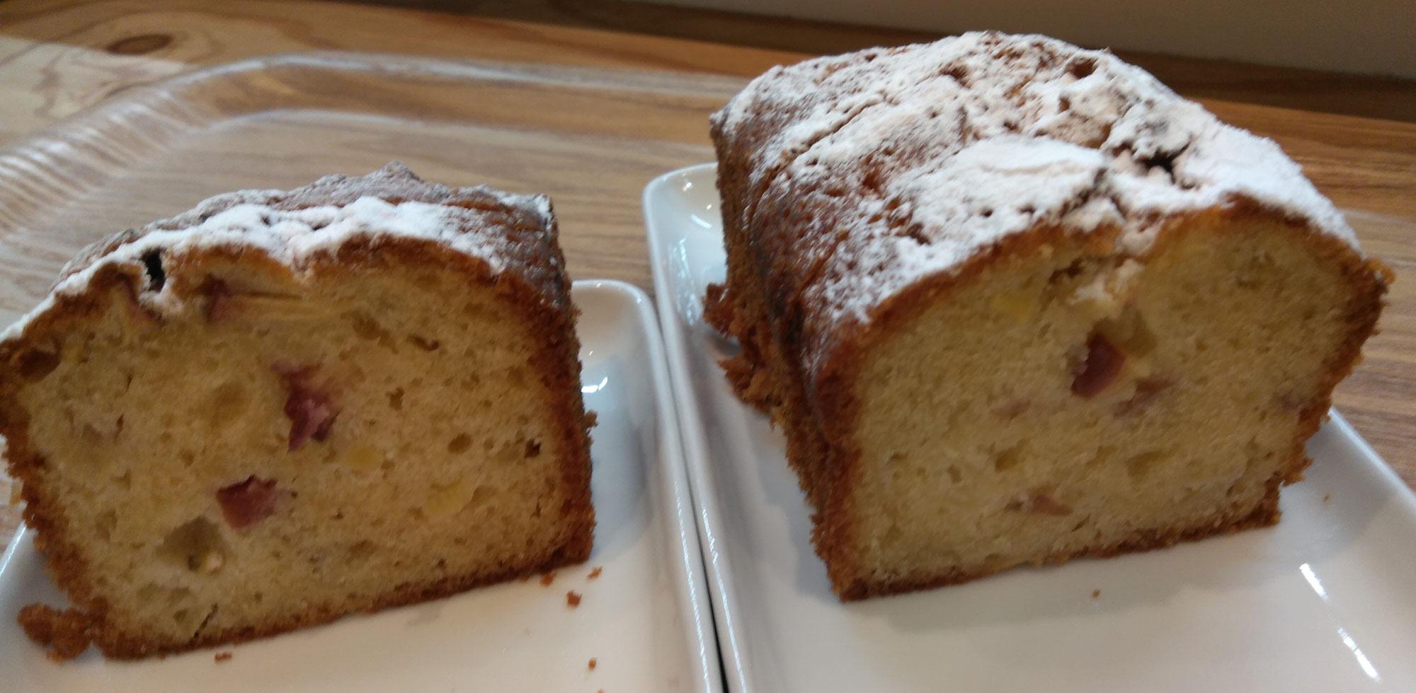 米粉のパウンドケーキも好評です♪