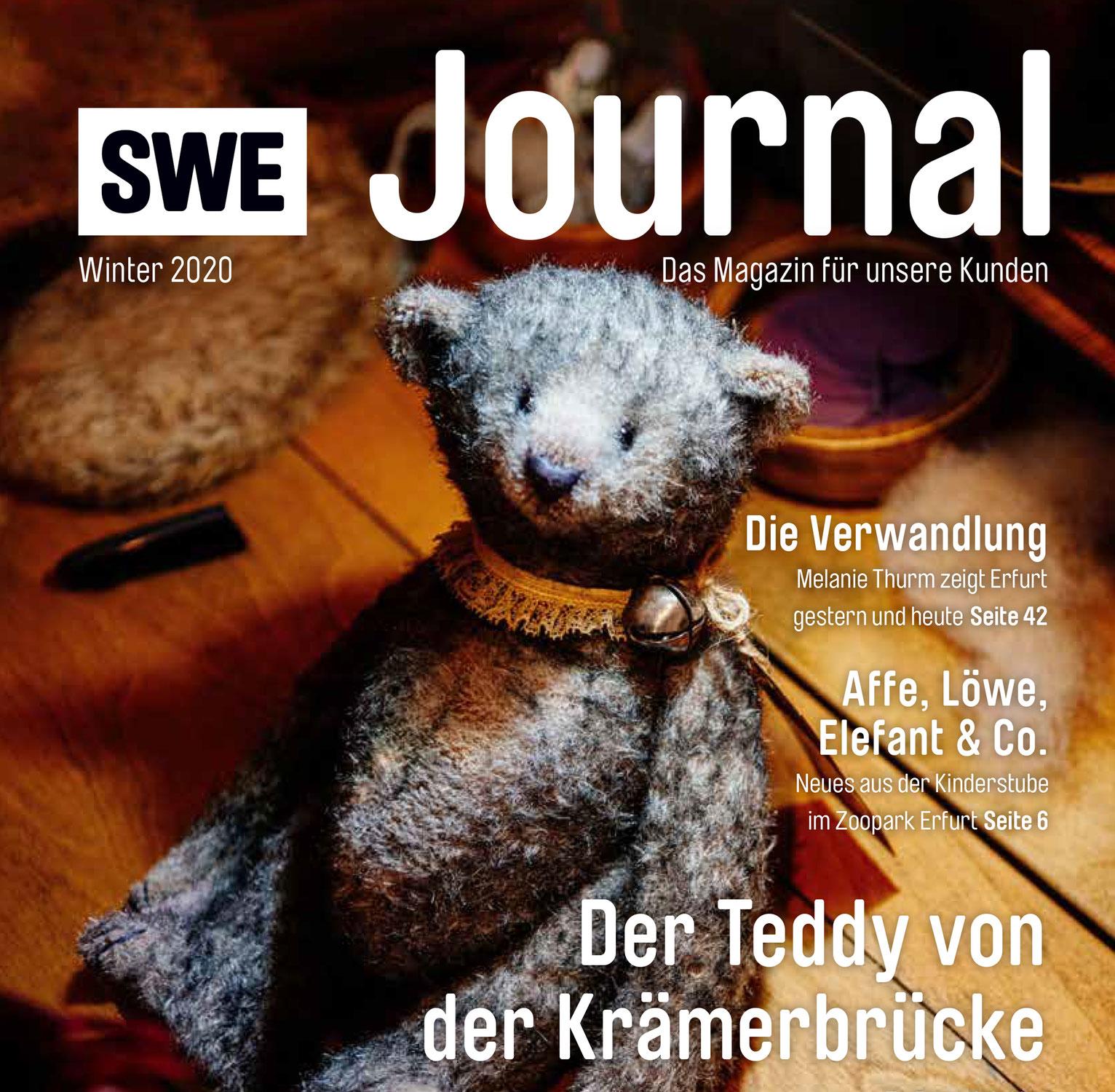 Portrait im Stadtwerke-Magazin