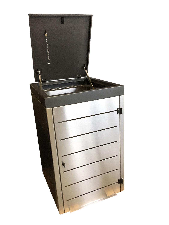 Mülltonnenbox Stahl