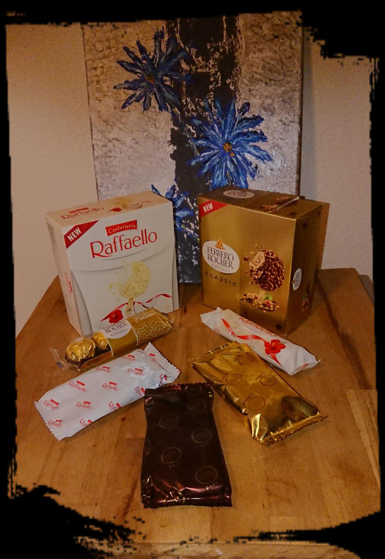 Ferrero Rocher Classic & Dark und Raffaello