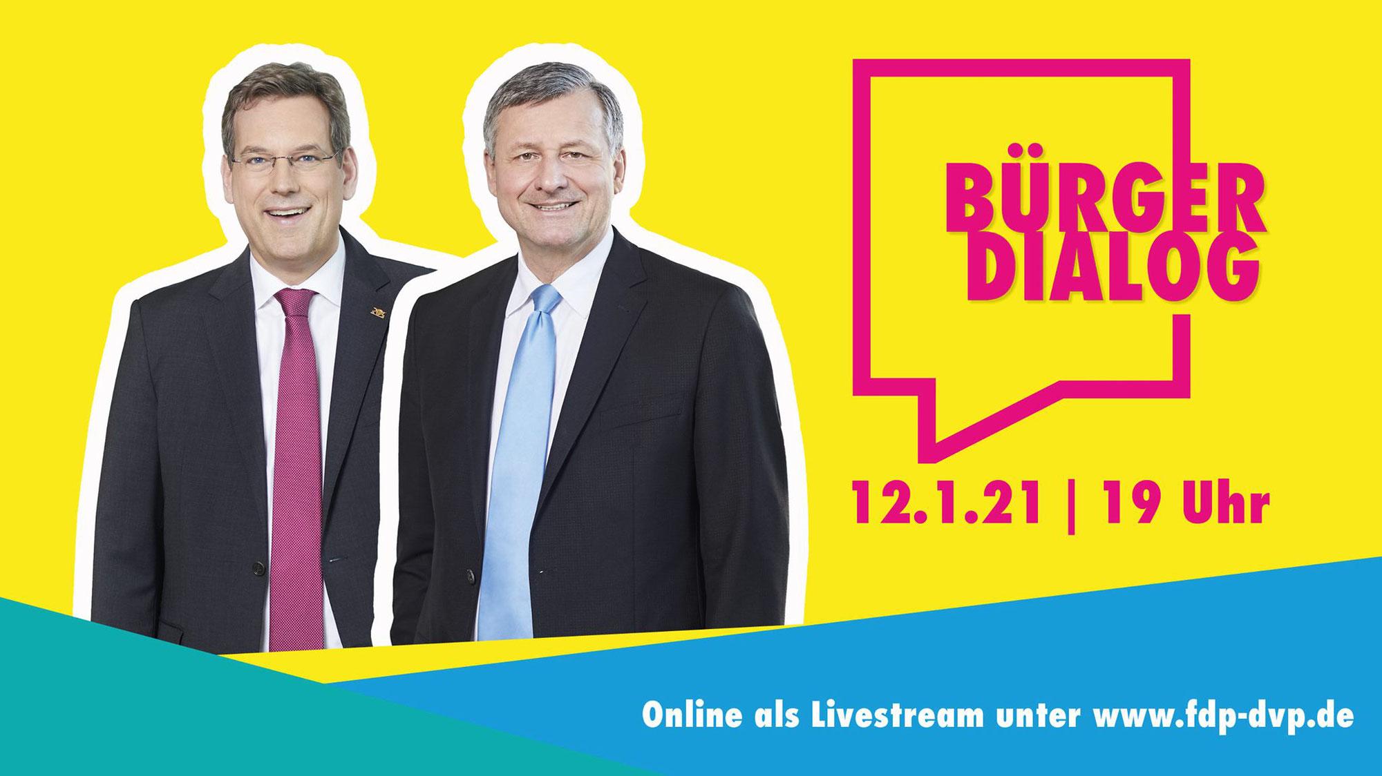 Bürgerdialog der FDP/DVP-Fraktion aus Pforzheim