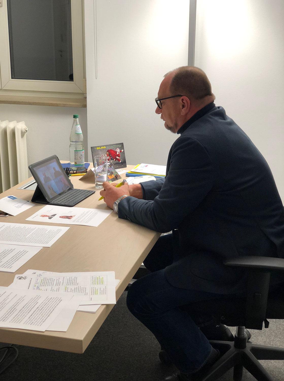 Videokonferenz mit der Elternstiftung Baden-Württemberg