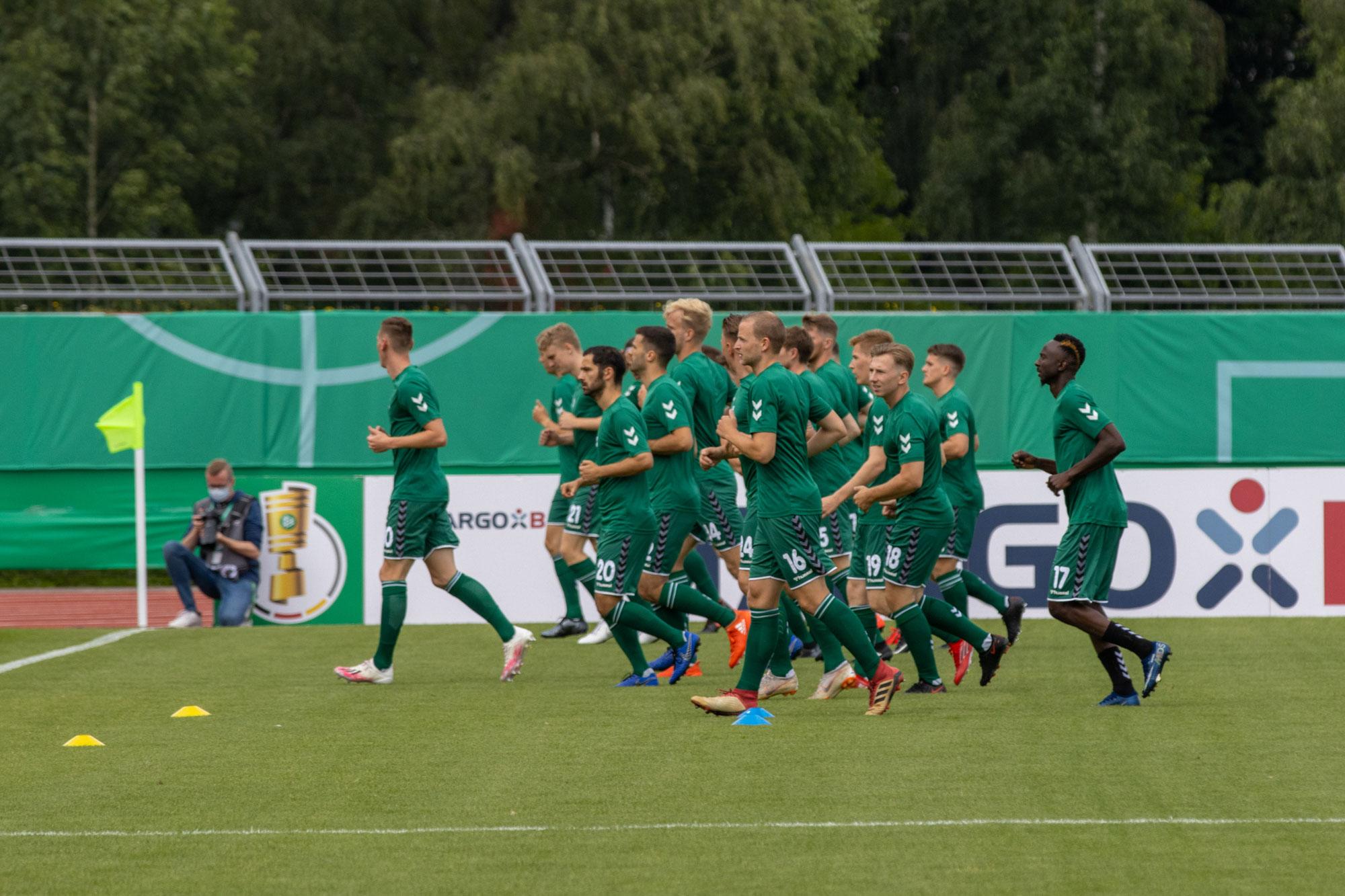 Bildergalerie DFB - Poakl VfL Oldenburg gegen Fortuna Düsseldorf
