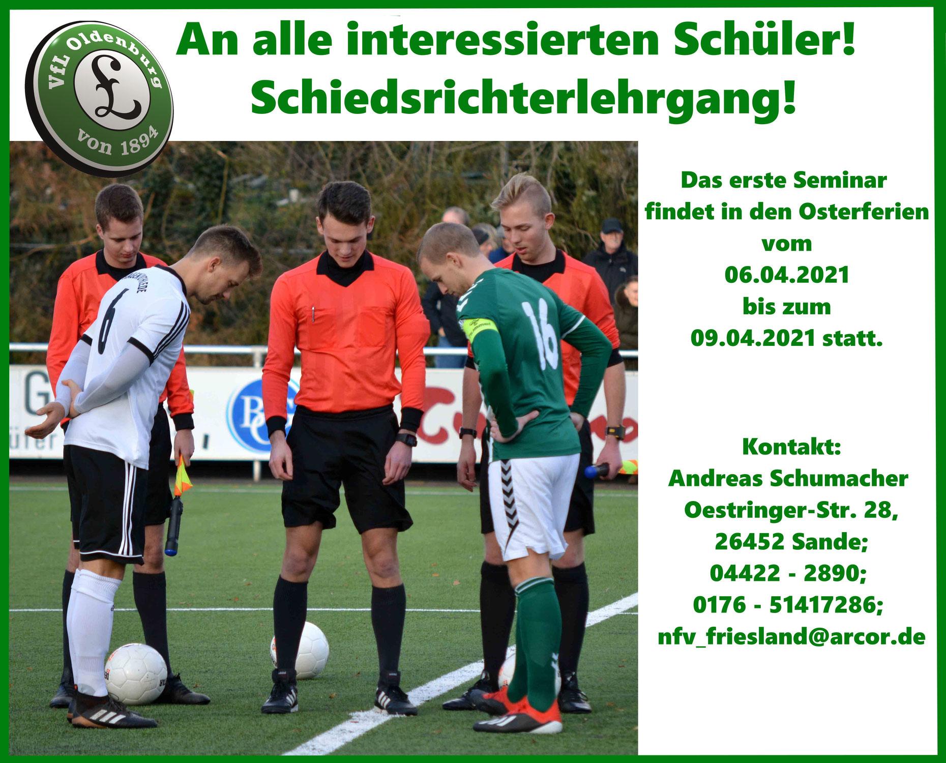 Schüler-Schiedsrichterlehrgang