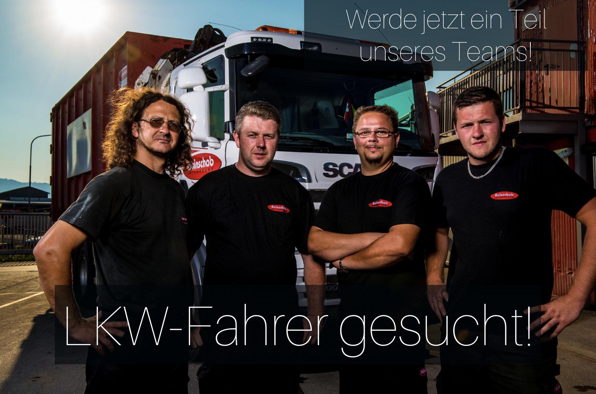 Wir suchen eine/n LKW FahrerIn