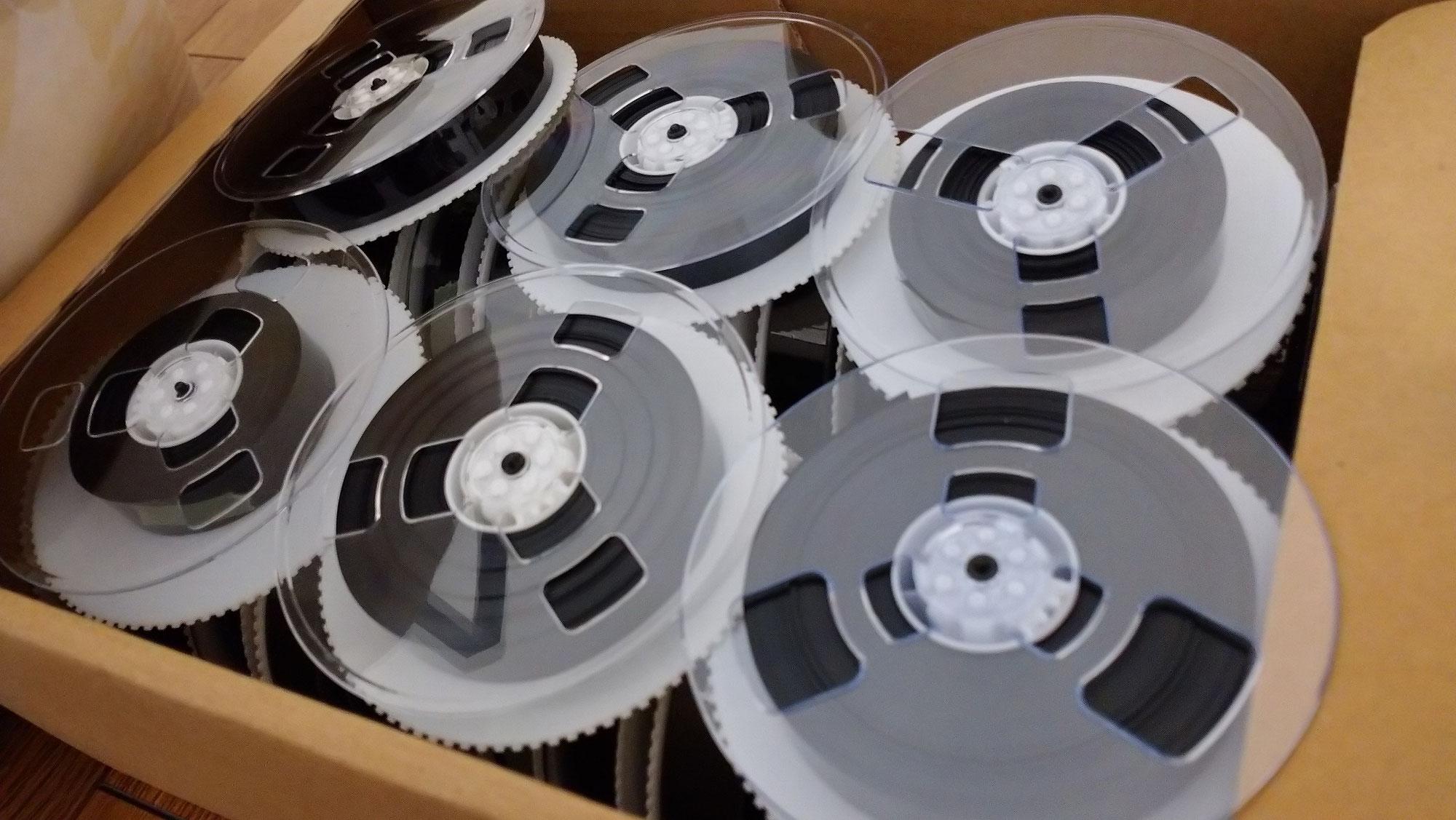 ビデオテープで『草むらを歩く効果音』を作る