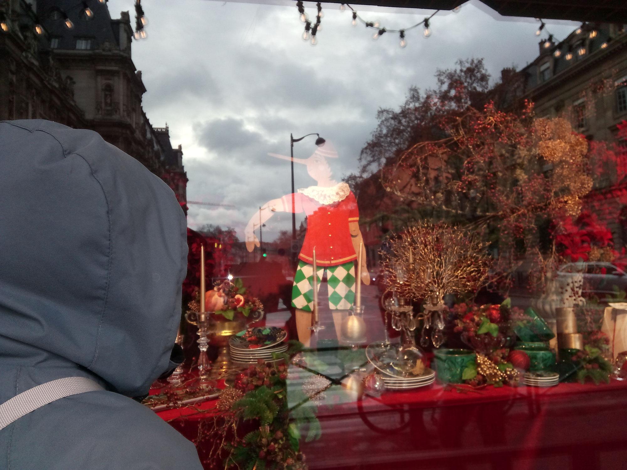 Victor et moi, un 24 décembre à Paris