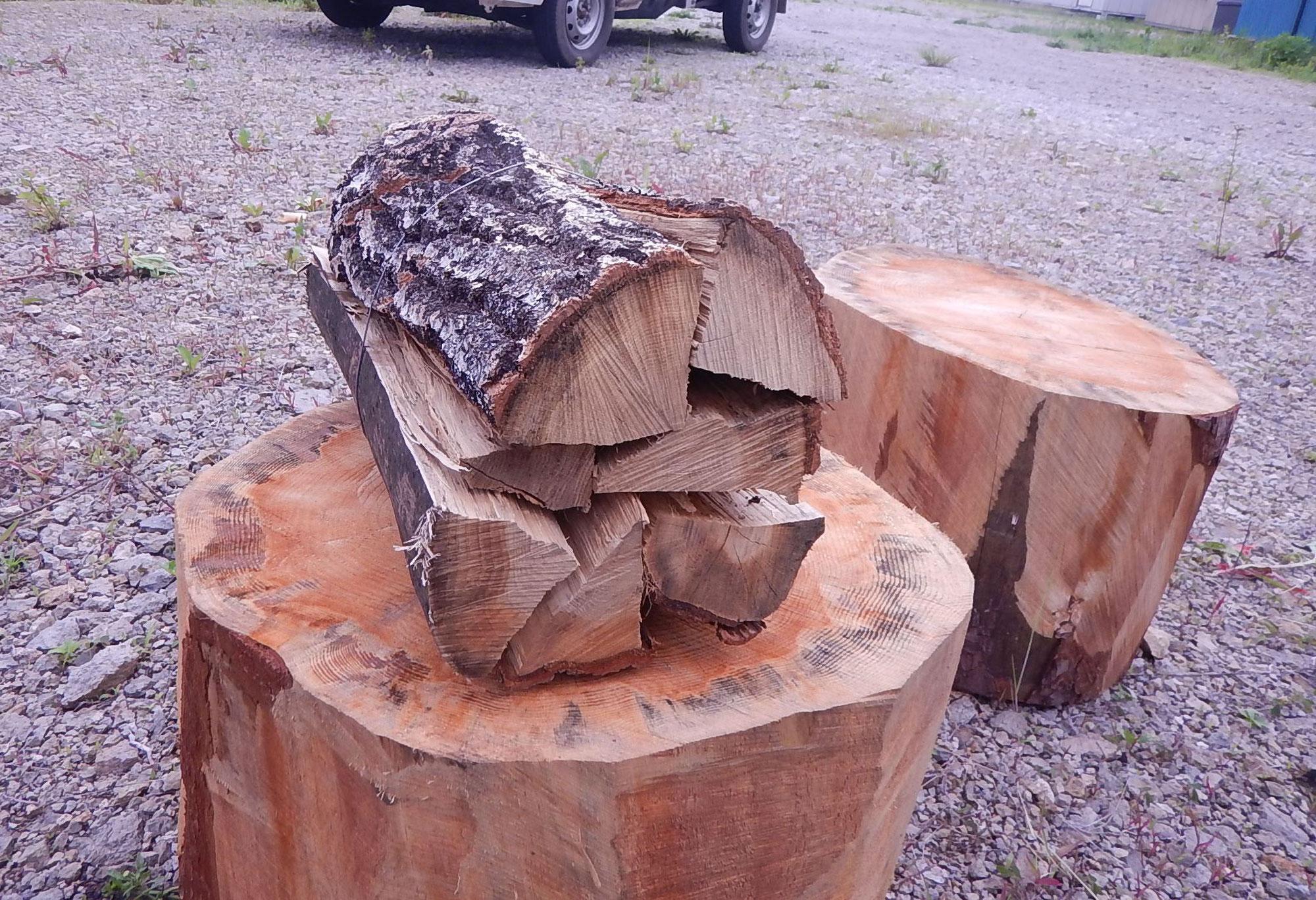 箍薪作りました