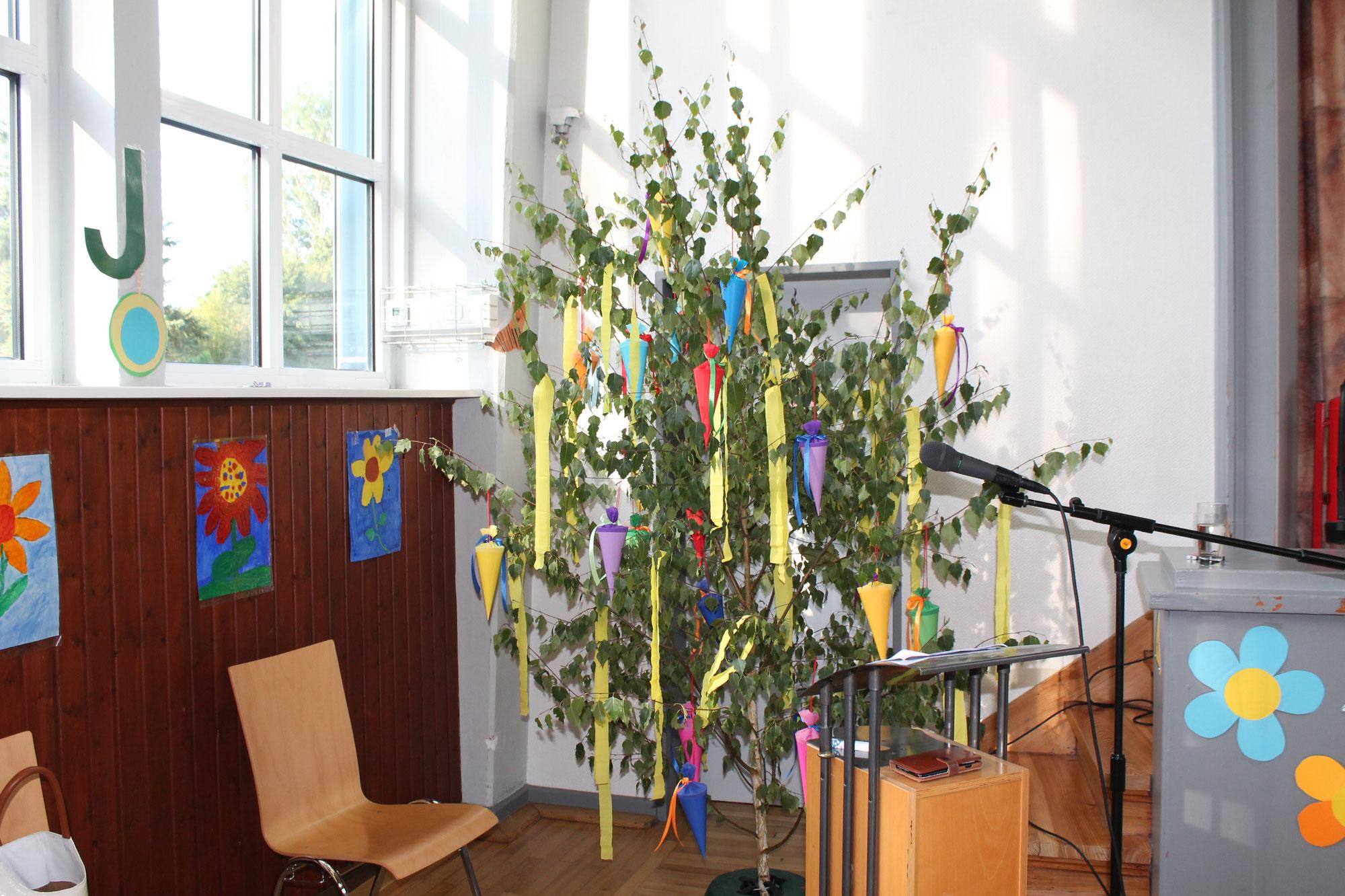 Einschulungsfeier und Gottesdienst 2021