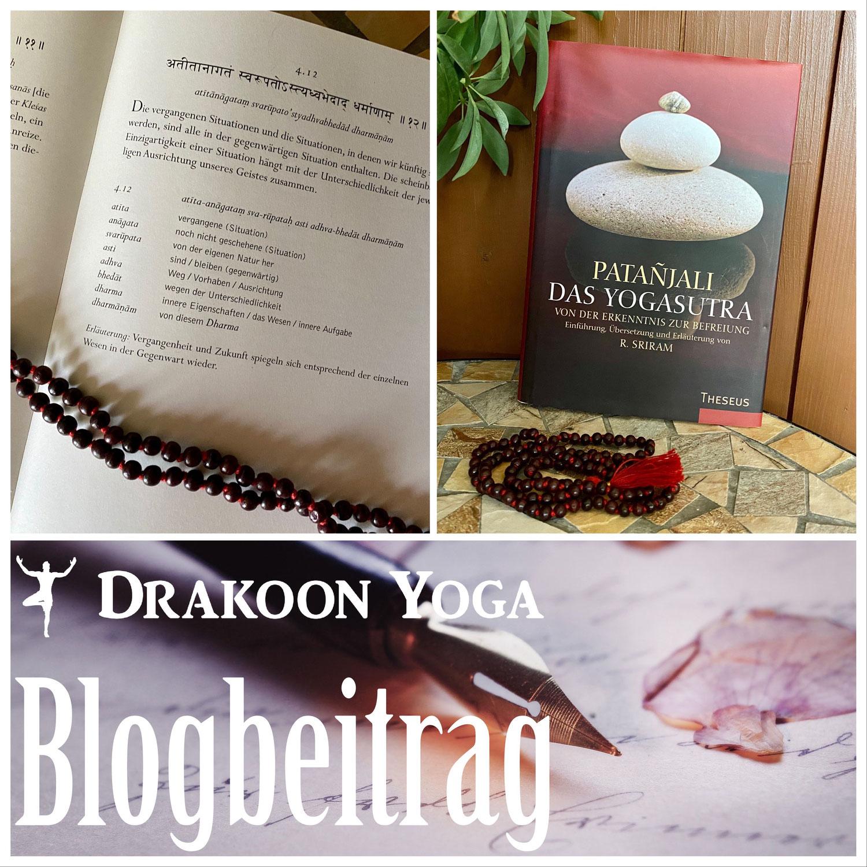 Das Yoga Sutra und die Gedanken eines Yogi