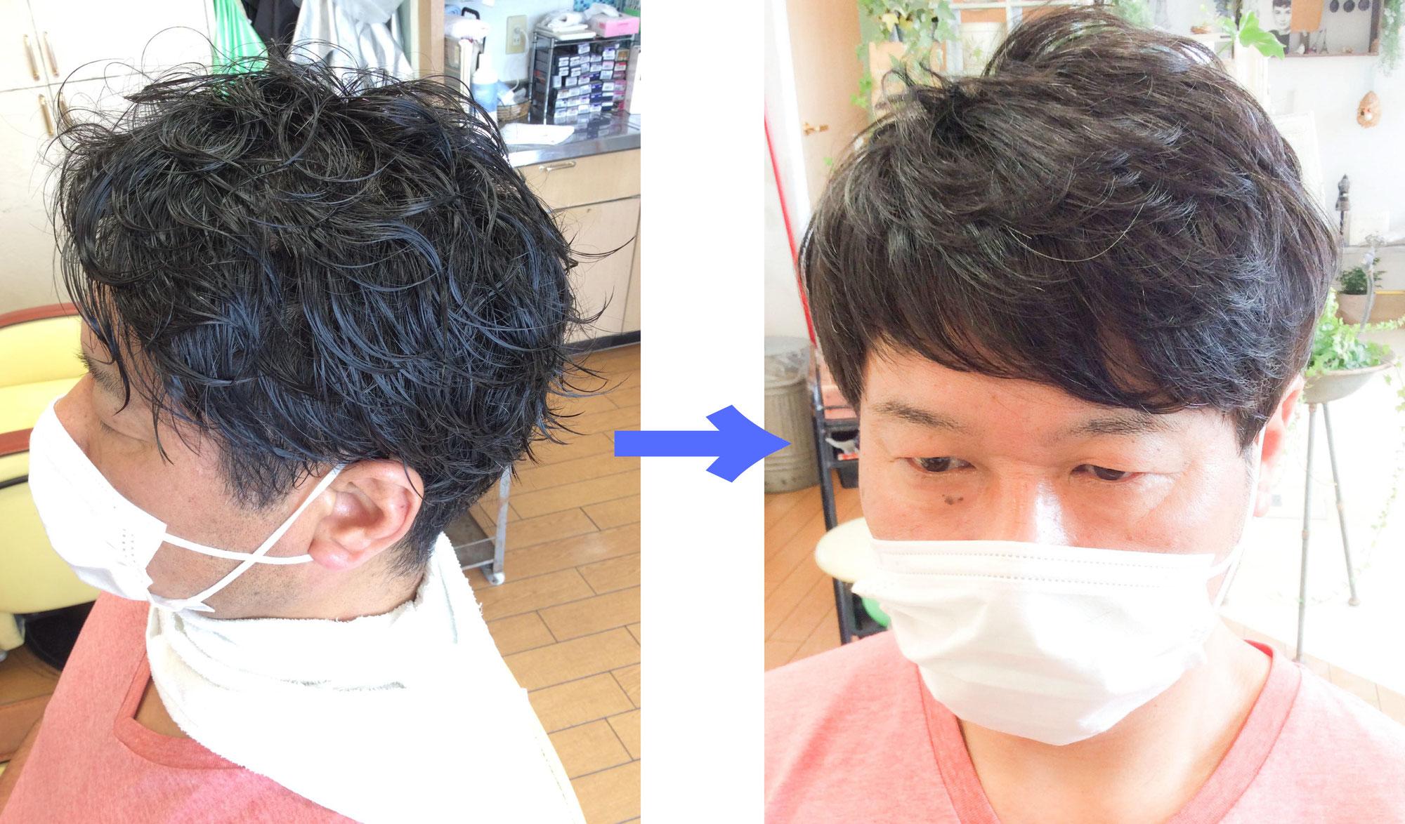 縮毛矯正にみえない縮毛矯正こそ最高の縮毛矯正