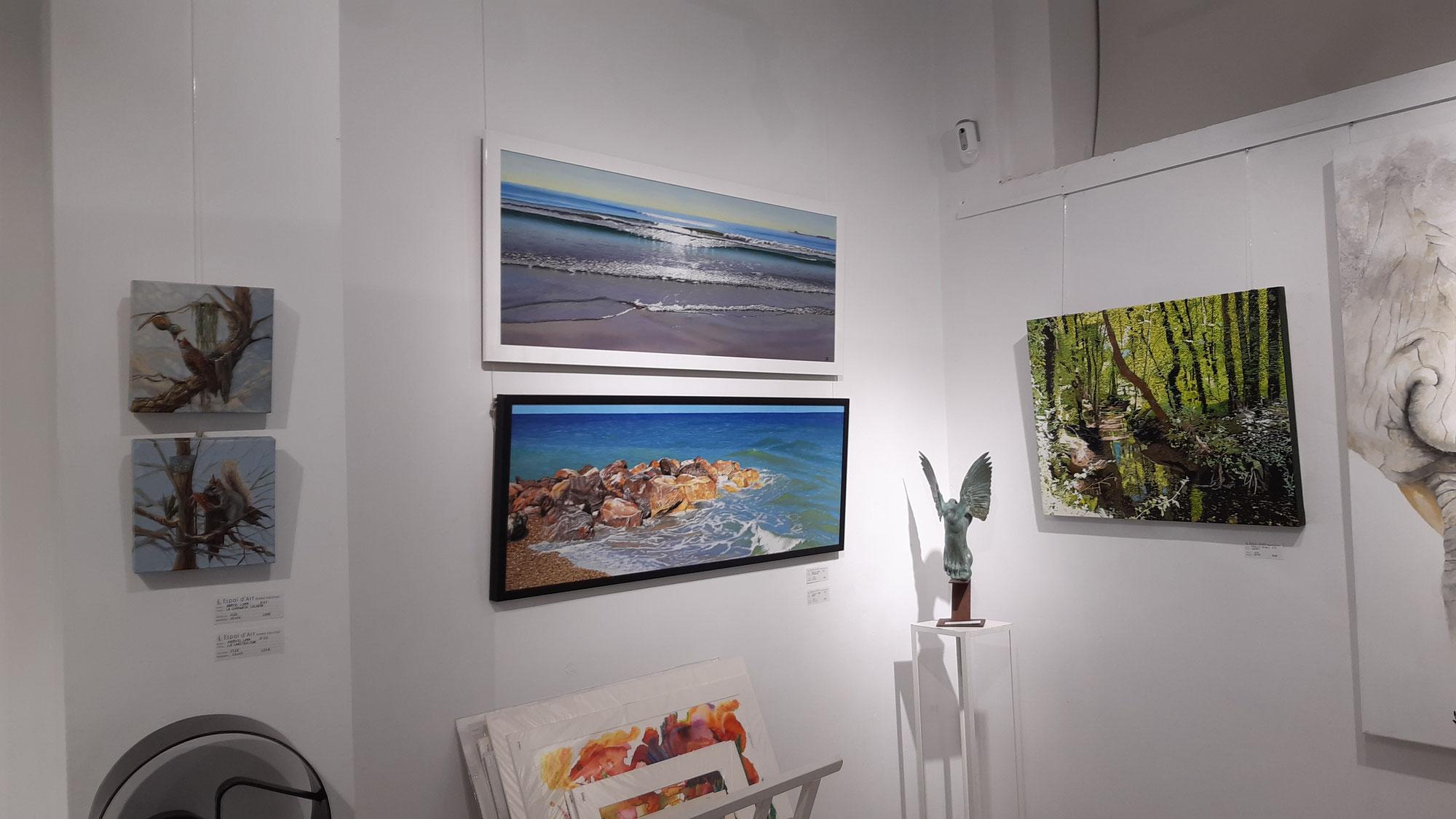 Exposición Colectiva en la Galeria Maika
