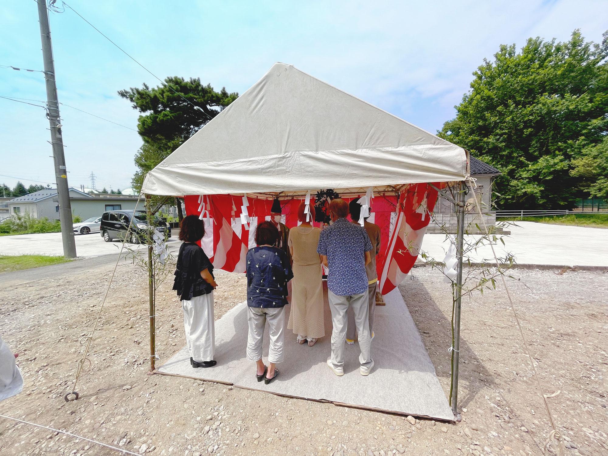 【kopi luwaak】の地鎮祭