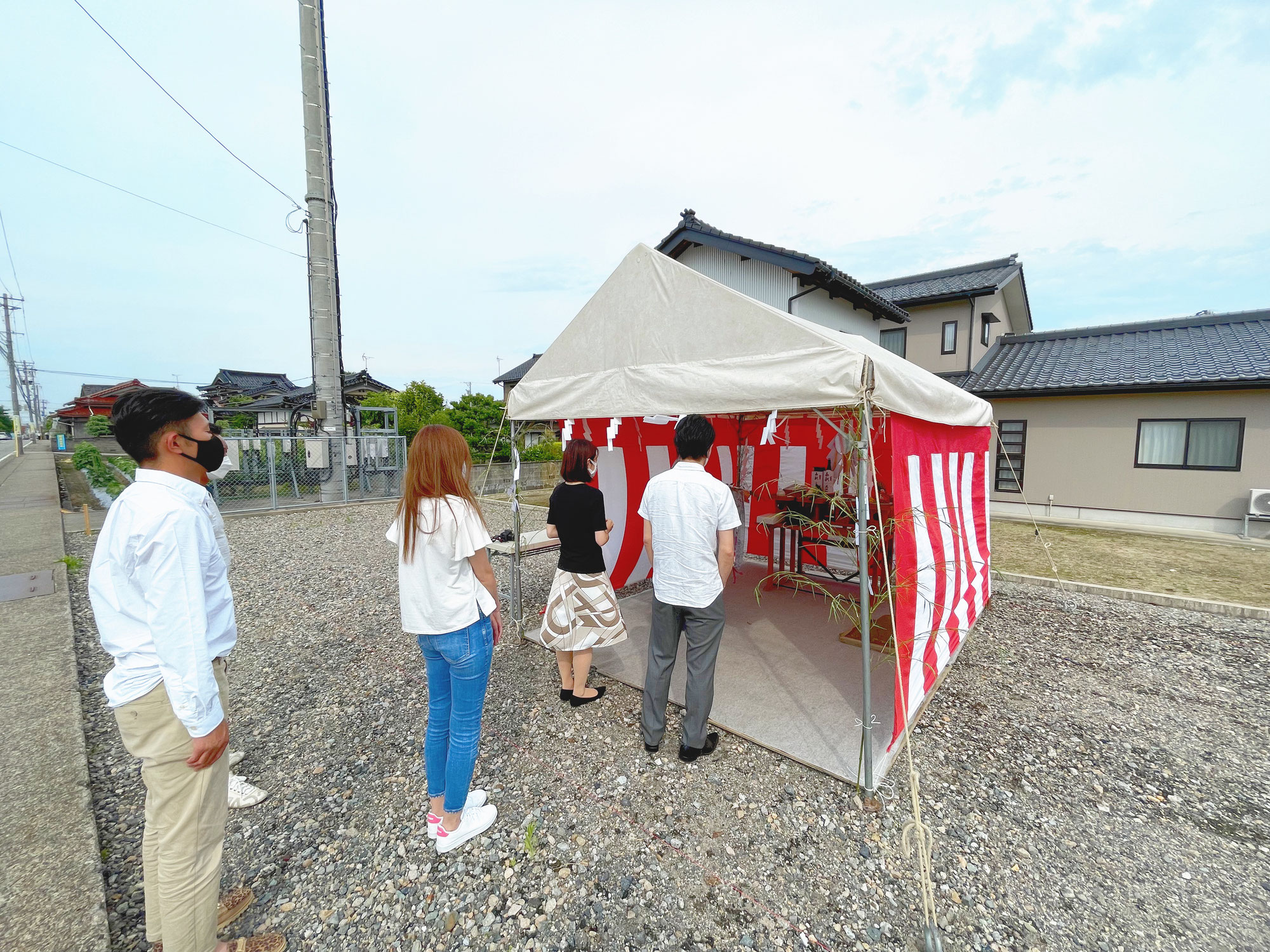 【ラフ】の地鎮祭