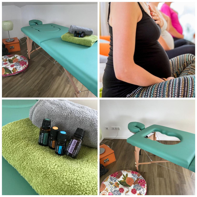Massage für werdende Mütter!
