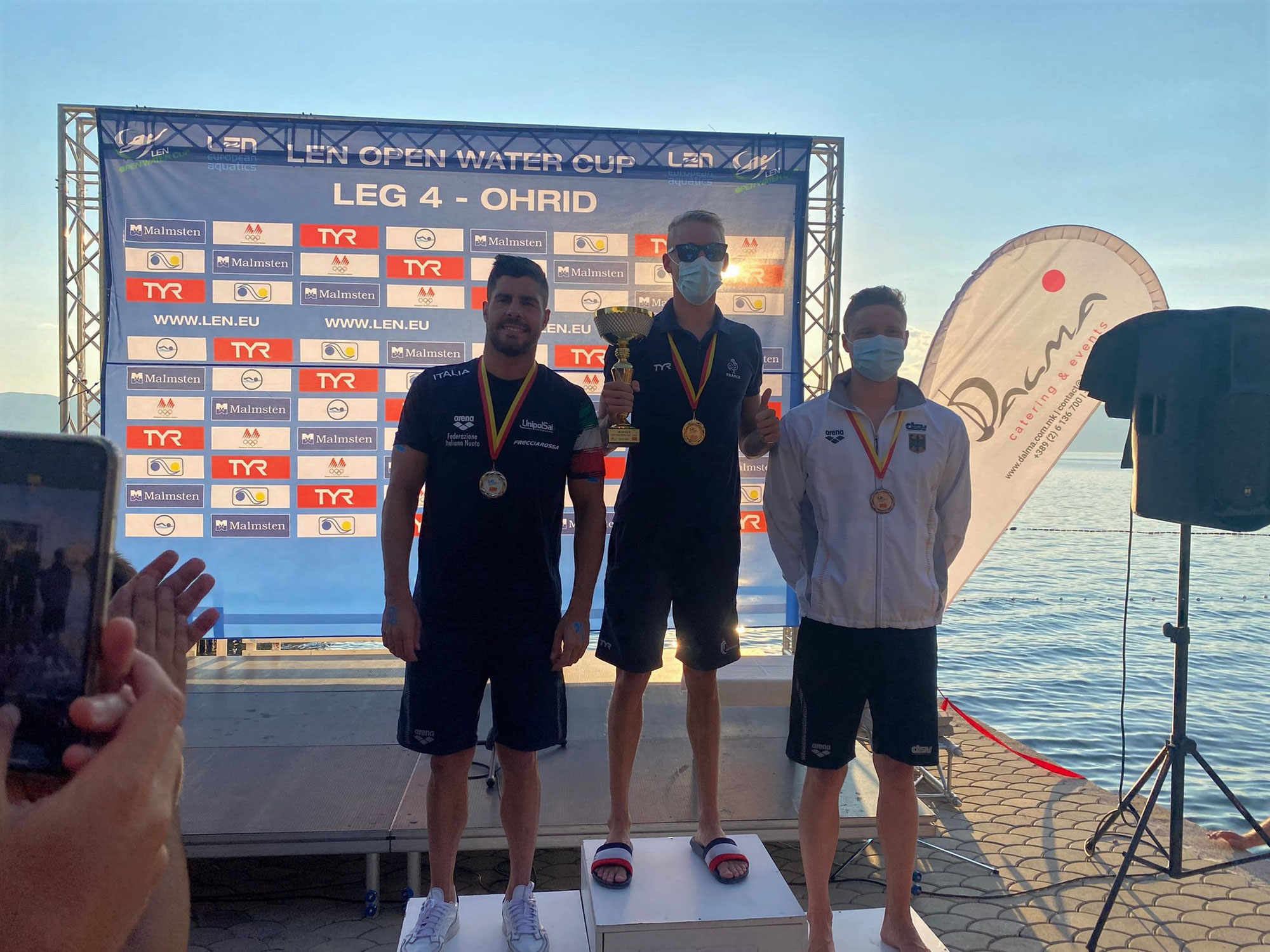 3. Platz für Niklas Frach beim LEN Open Water Swimming Cup