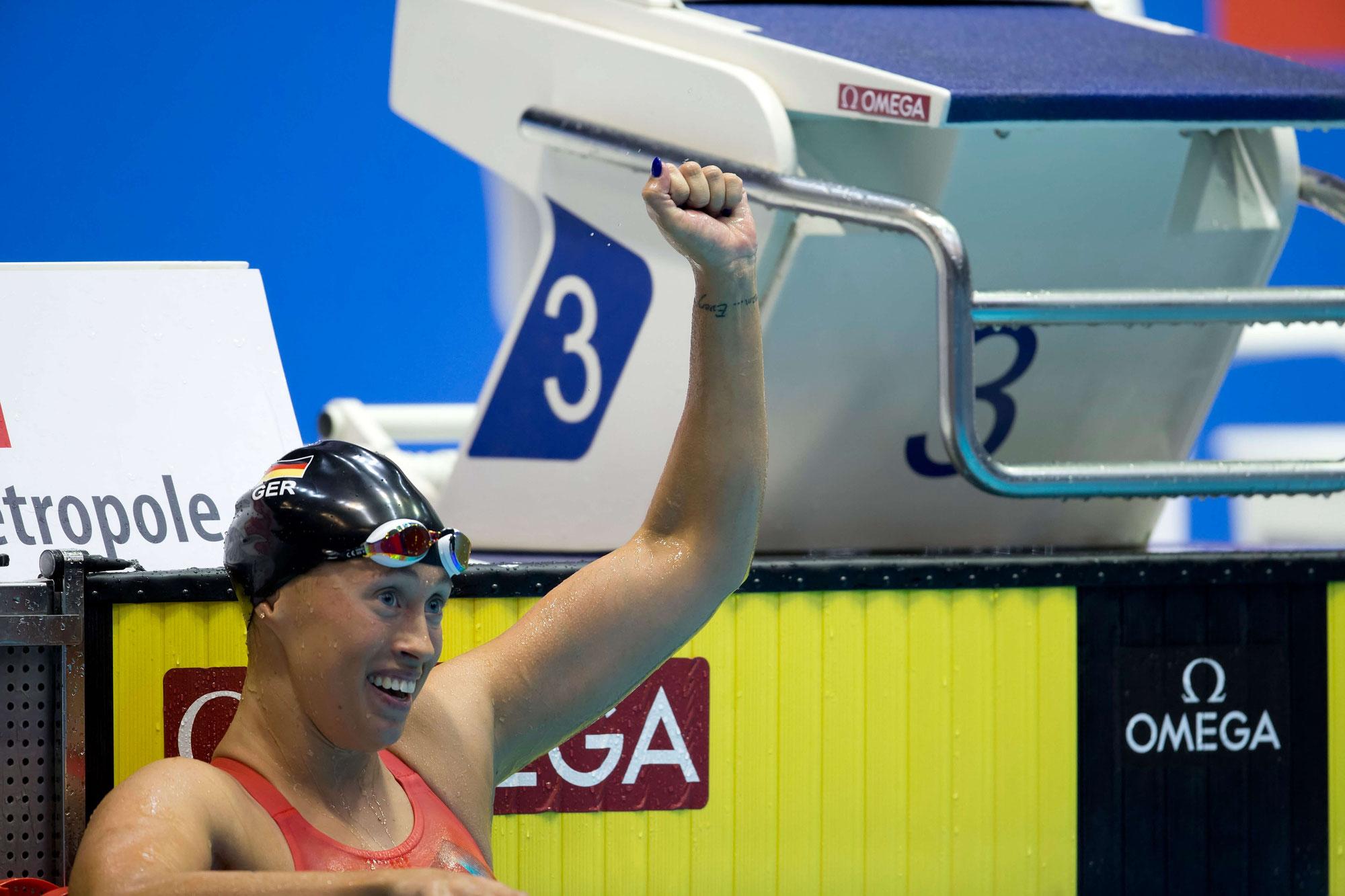 Sarah Köhler (SG Frankfurt) ist Europameisterin