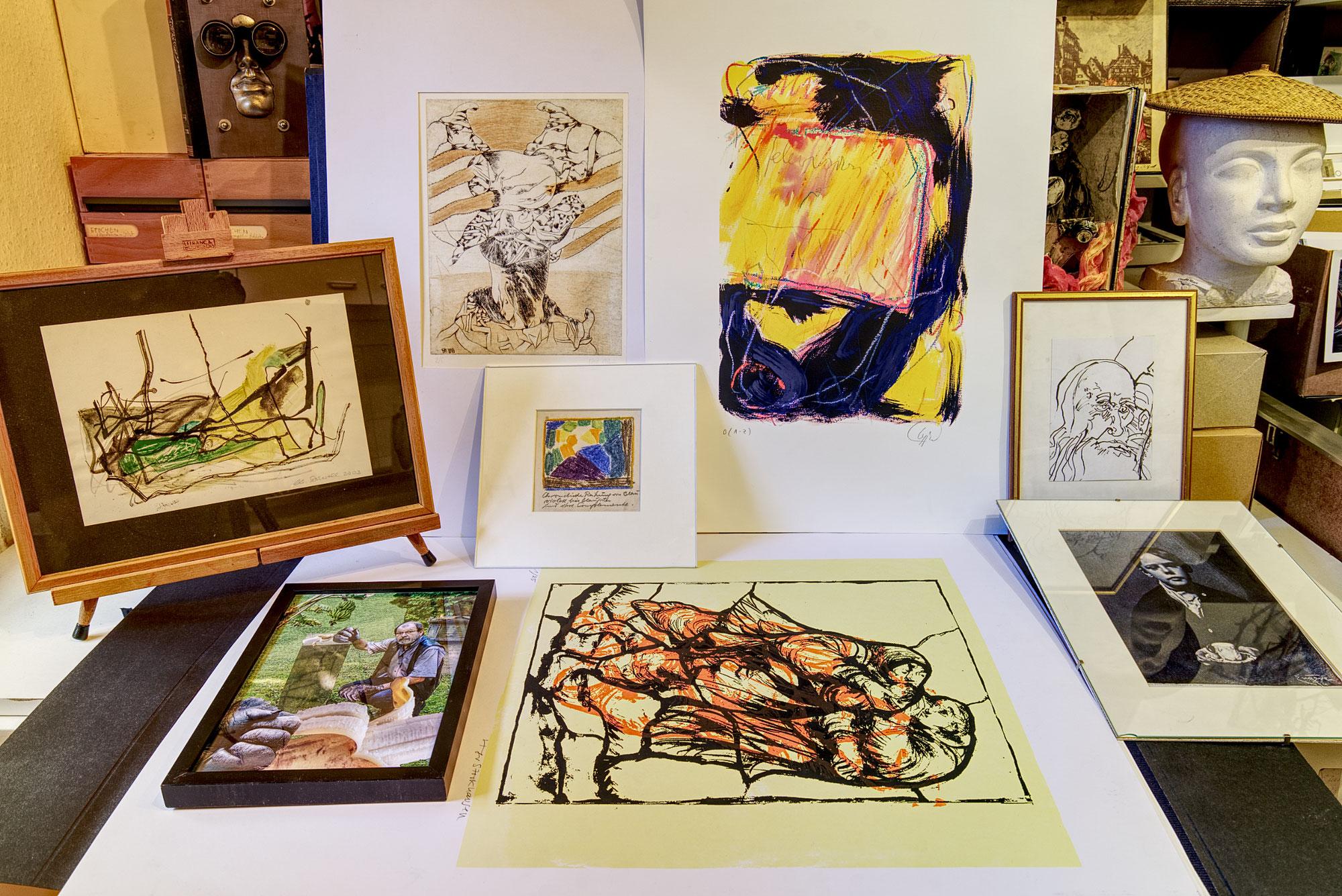 Ausstellung aus dem InterArt-Fundus – Aus allen künstlerischen Disziplinen