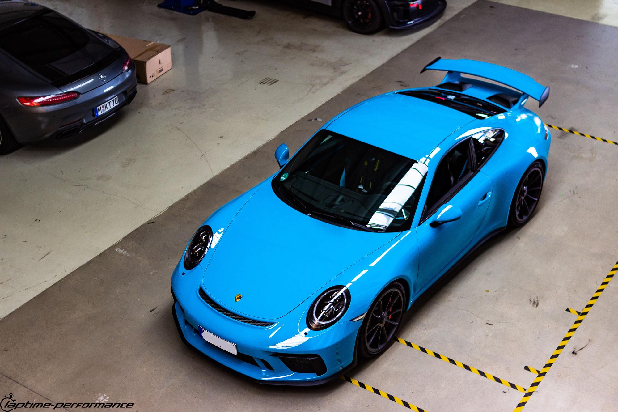 Abgasklappensteuerung Porsche 991 GT3