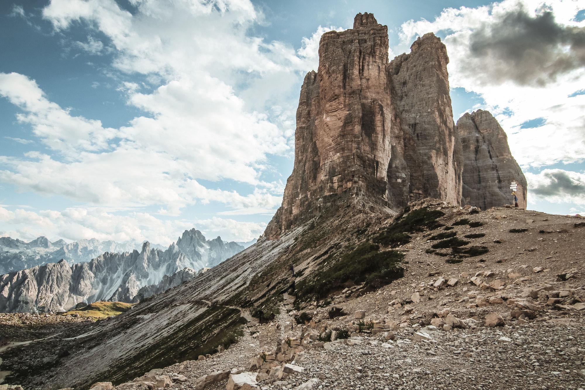 Die Drei Zinnen Umrundung - die schönste Wanderung in den Dolomiten