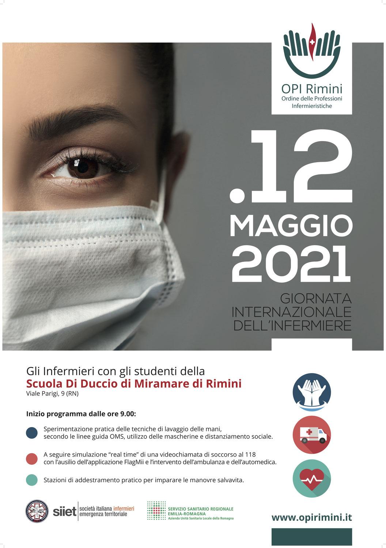 12 maggio giornata dell'infermiere: interessante iniziativa OPI Rimini