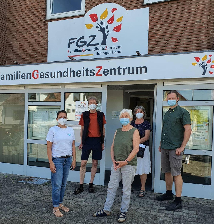 Grüne informierten sich über die Situation der Hebammen im FGZ