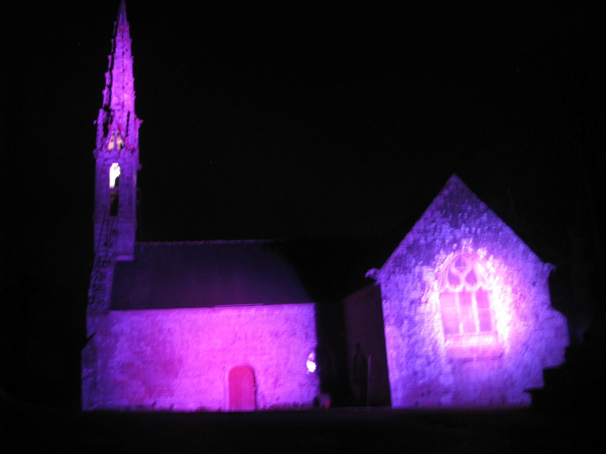 Noël à la Chapelle de Sainte Cécile  à Briec