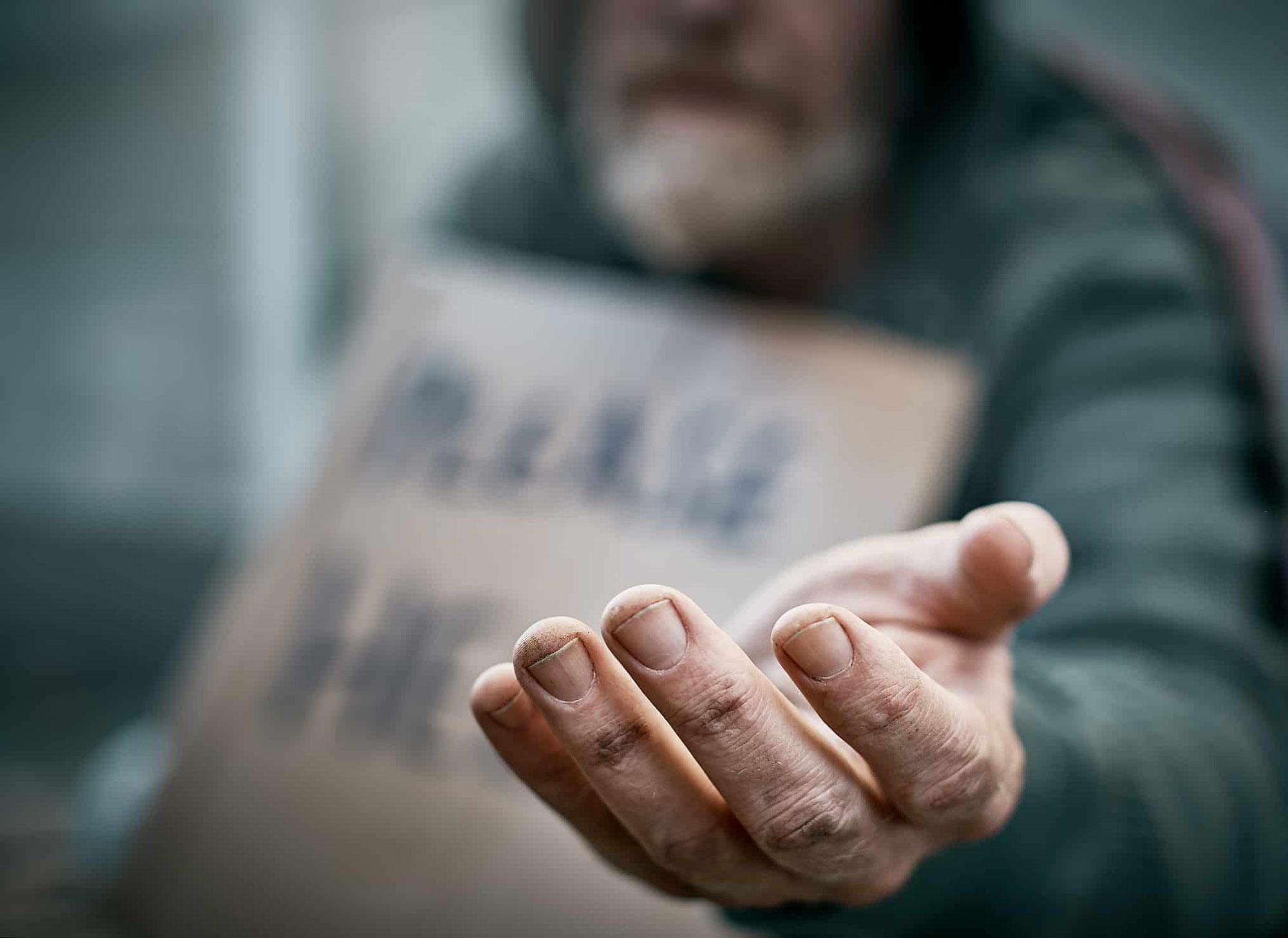 Der Mann mit der verdorrten Hand