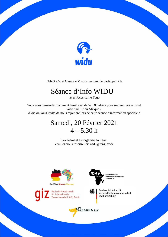 WIDU - Gemeinsam für neue Jobs in Afrika!