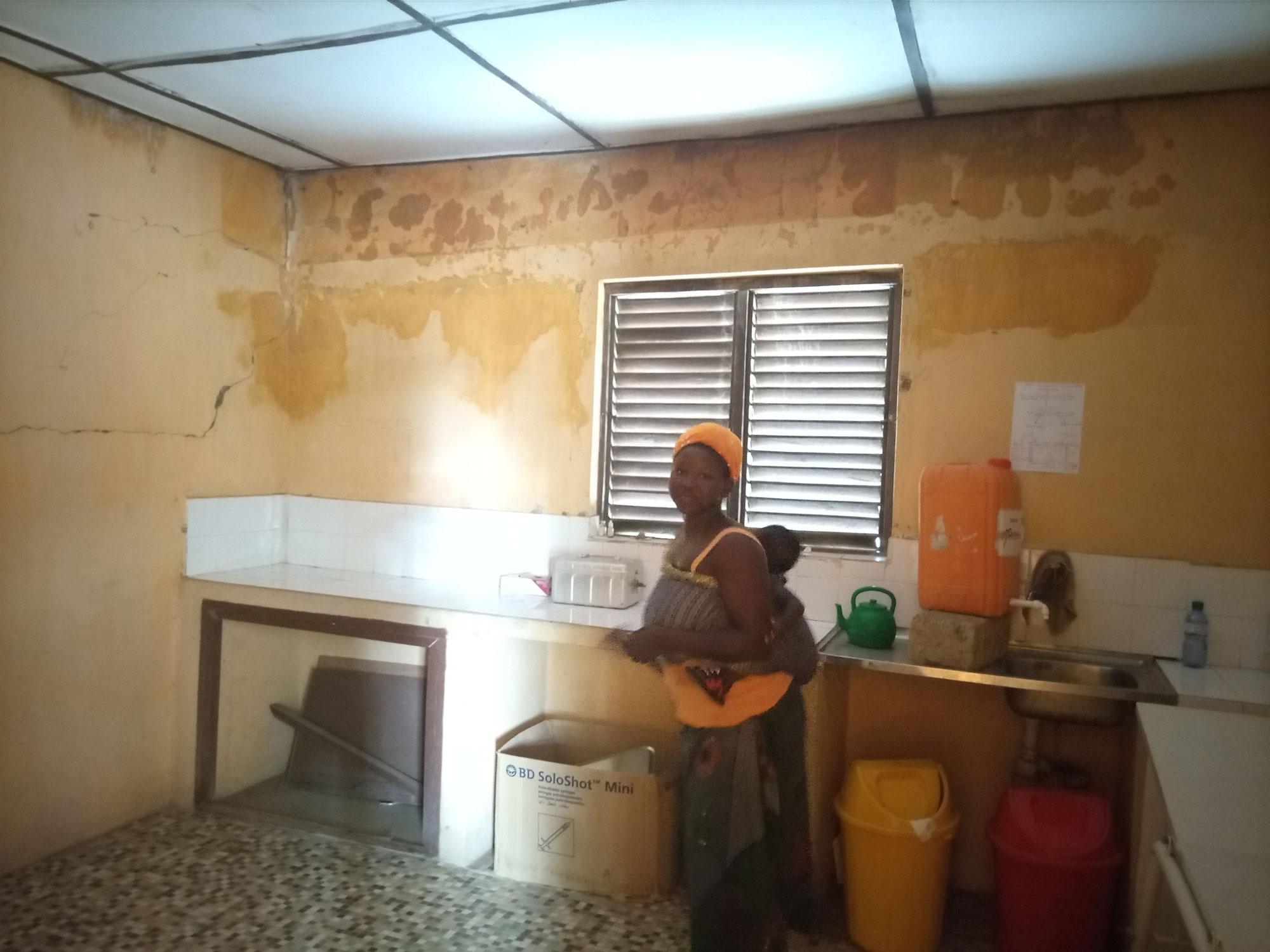 Sanierung der Gesundheitsstation von Tchoré