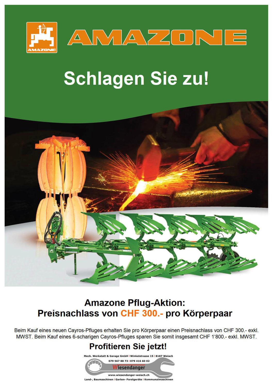 Amazone Pflug-Aktion