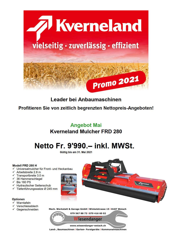 Kverneland Mulcher FRD 280