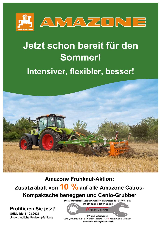 Amazone Frühkauf-Aktion