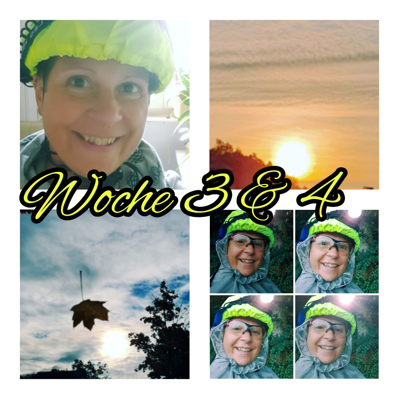 Vom Auto zum Fahrrad Woche 3 & 4