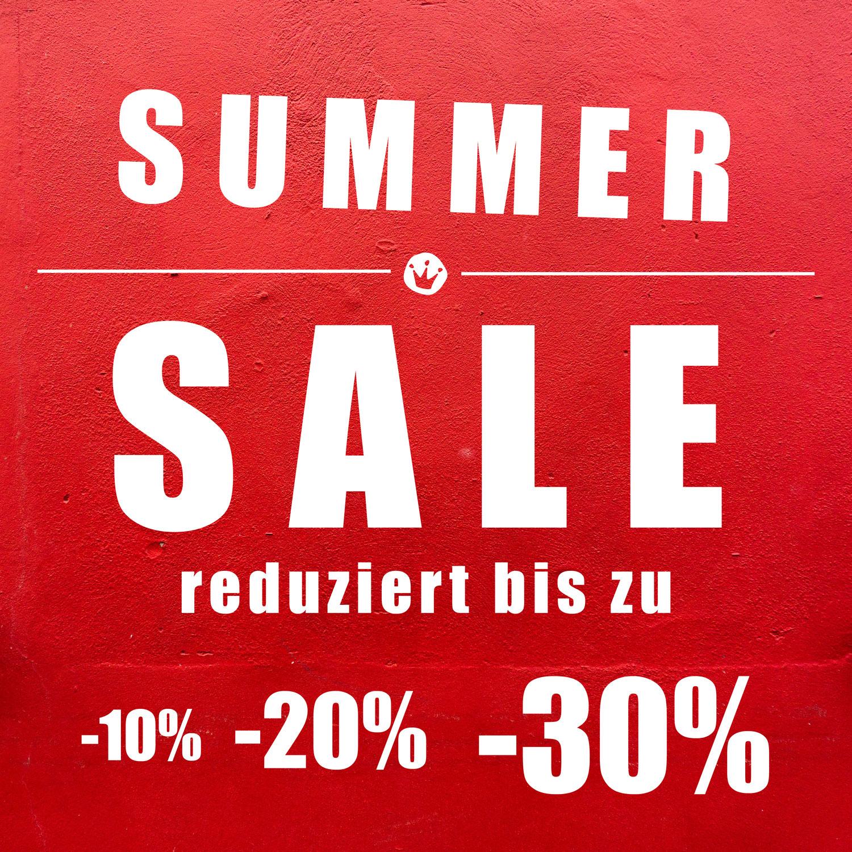 Start zum großen SUMMER SALE!