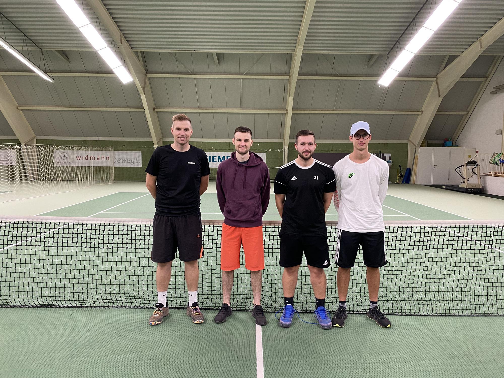 Tennis: Herrenmannschaft mit Überzeugungsleistung zum zweiten Saisonsieg