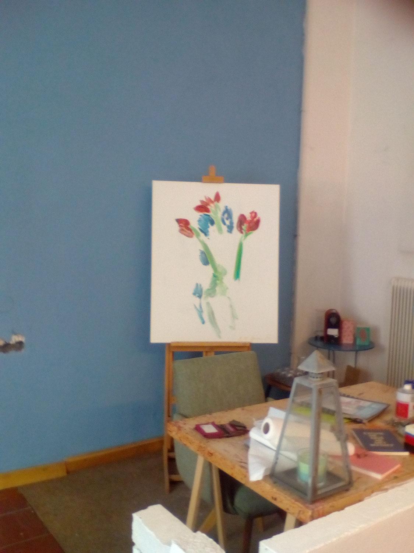 Sag' es durch die Blume?! Ausstellung im Wachsen, TIGER LINE   LINZ