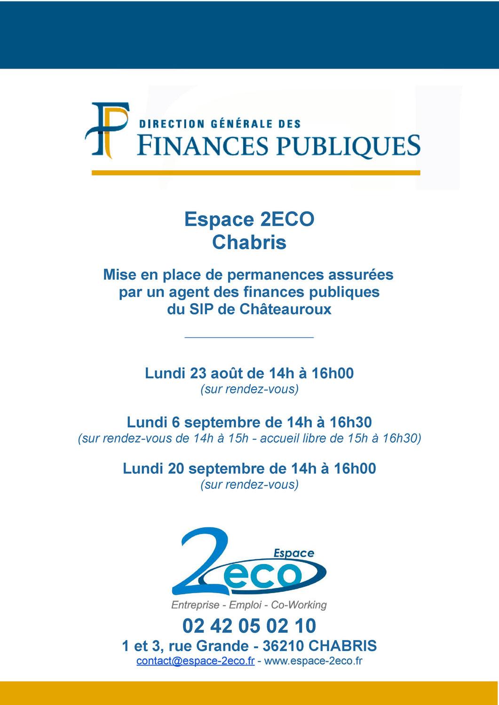 Permanences des Finances Publiques.