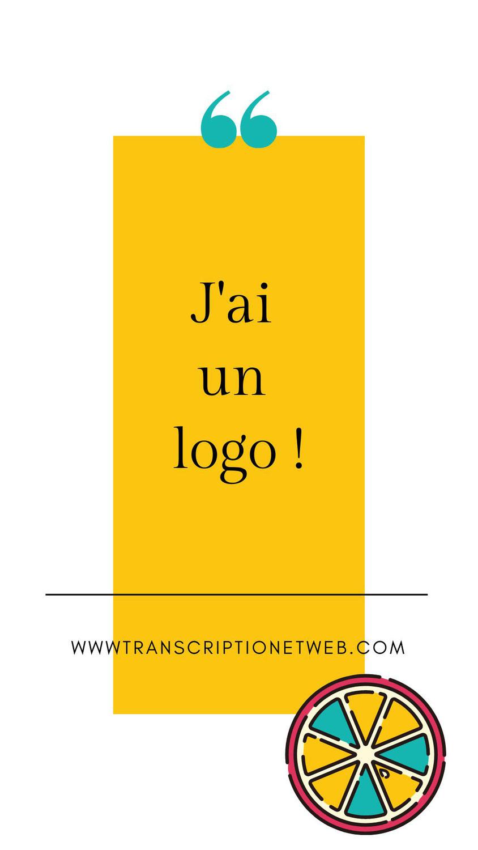 J'ai un logo !