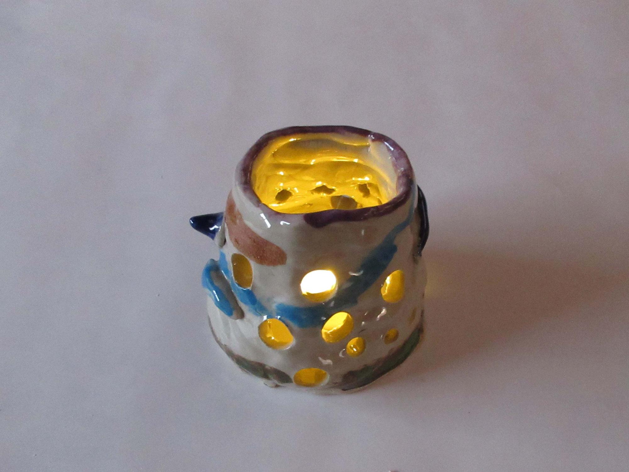 陶芸の灯り