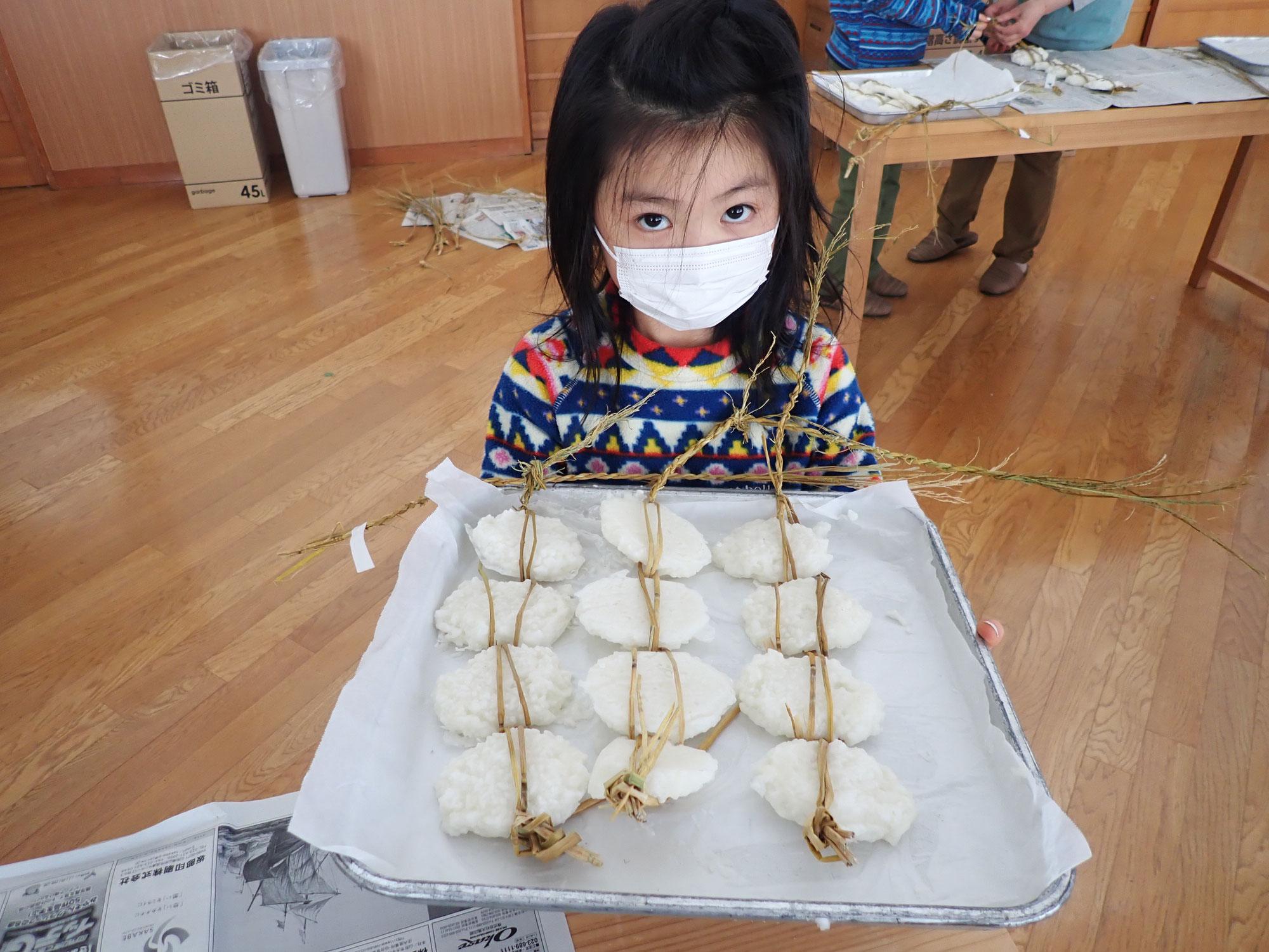 山形の郷土料理 凍み餅作り体験