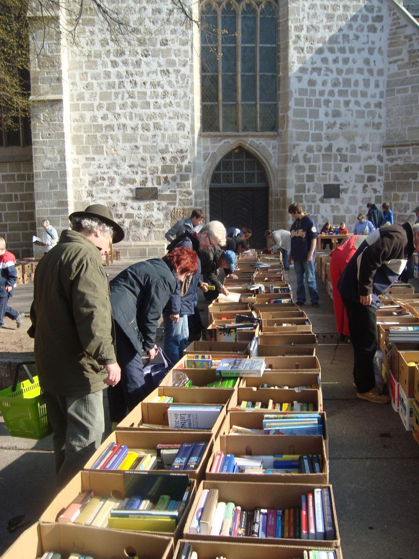 Büchermarkt am kommenden Samstag