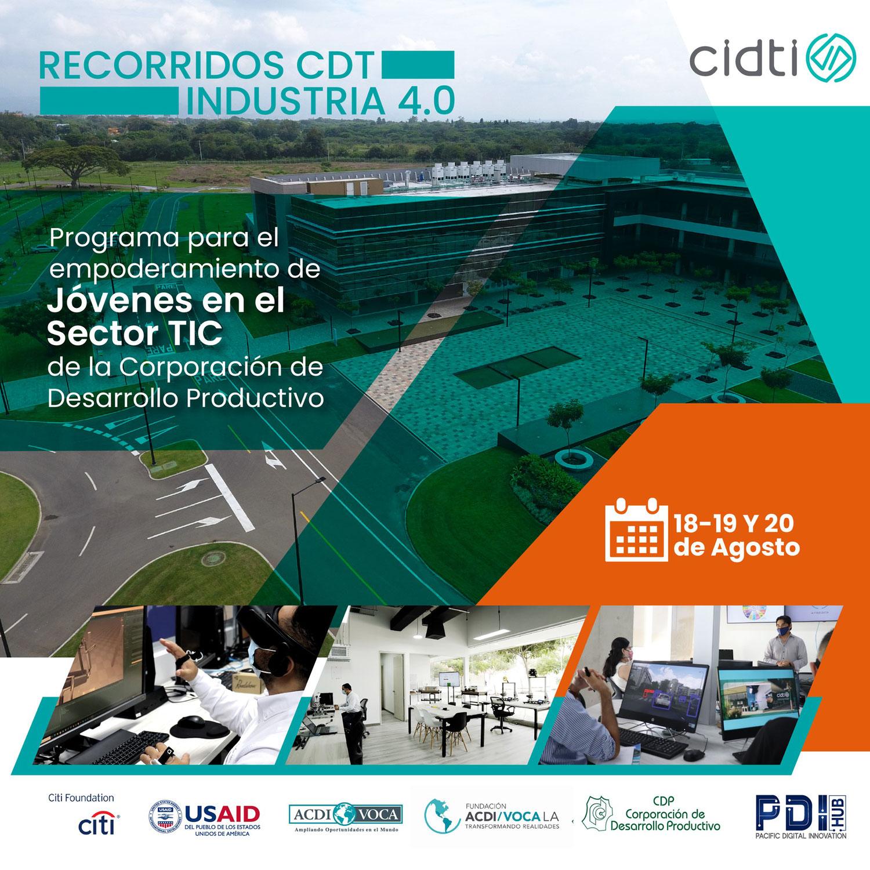 Firma de convenio entre CDP y CIDTI